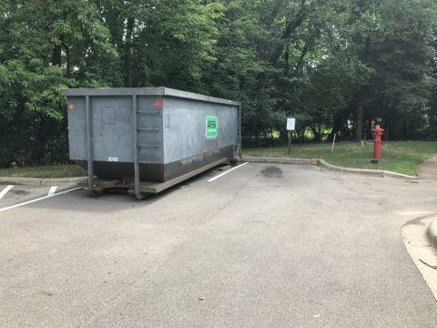 Thanks to Aspen Waste for providing a dumpster!